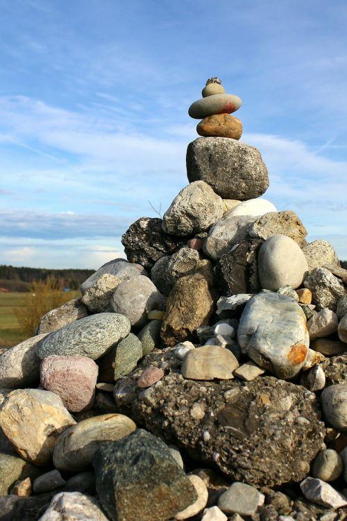 balance stones stone hill