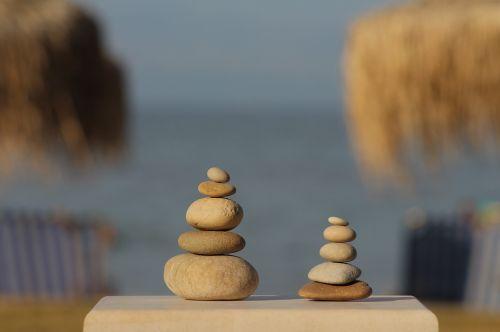 balance harmony pebbles