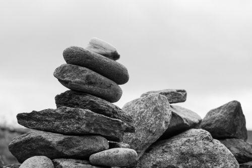 balance stones meditation