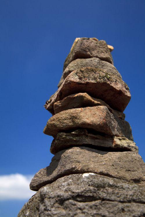 balansas, krūva, krūva, Rokas, dangus, stabilumas, krūva, sukrauti, akmuo, bokštas, balansavimo uolos