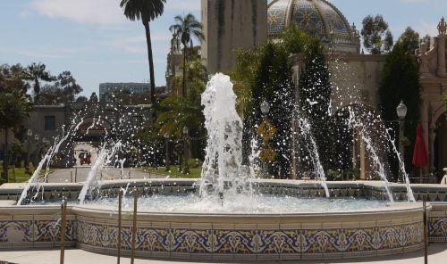 balboa fountain water