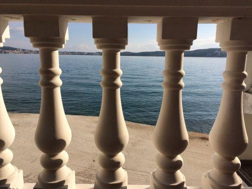 balcony stone view
