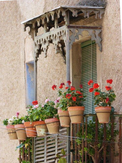 balcony  balcony florido  old