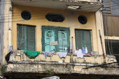 balcony vietnam hanoi