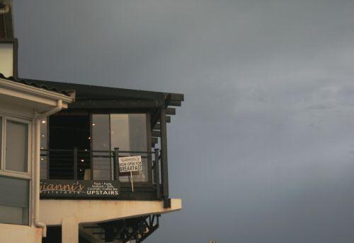 Balcony Against The Sky