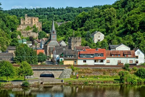balduinstein germany town