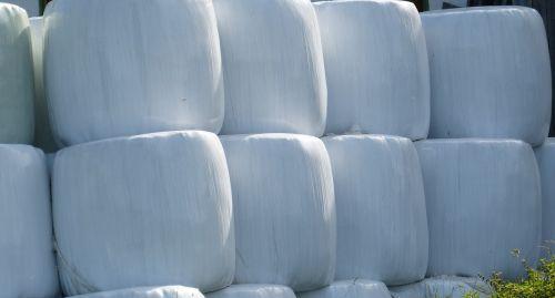 bales grass crop storage