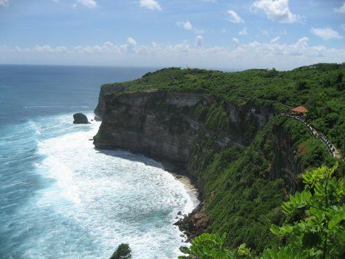 bali uluwatu cliff