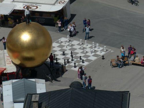 balkenhol mozartkugel chess player chess game