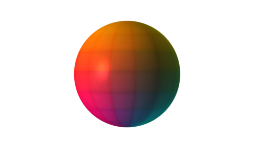 ball 3d multicolor