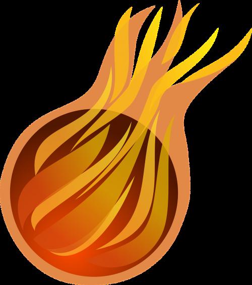 ball fire fireball