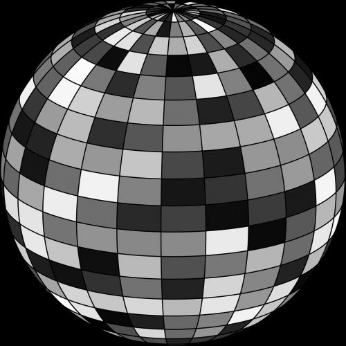 ball checker checkered