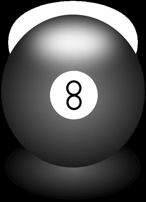 ball billiards black
