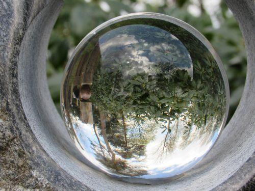 ball glass mirroring