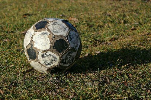 ball football worn