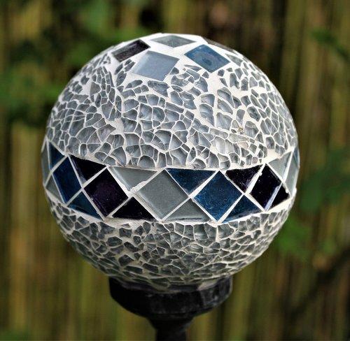 ball  glass  lamp