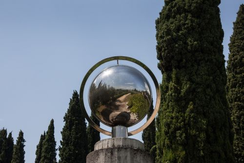 ball steel mirroring