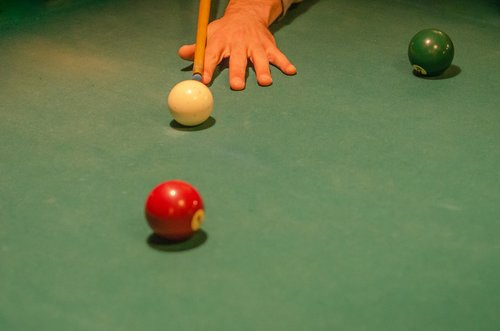 ball  billiards  carpet