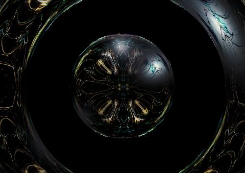 ball dark gloomy