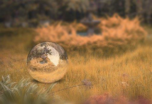 ball  landscape  sky