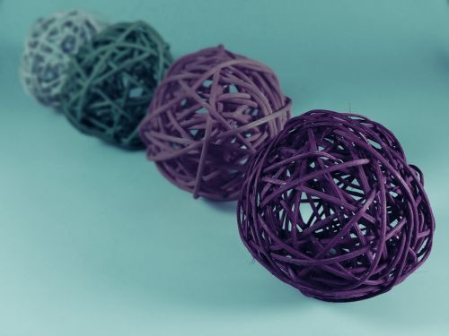 ball colorful braid