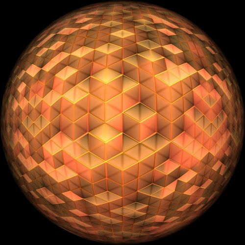 ball abstract pattern