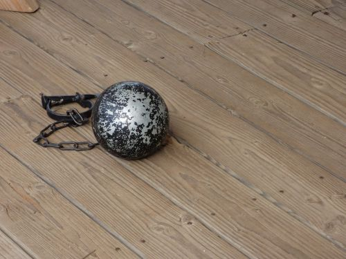 ball and chain legal law