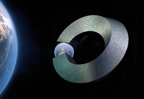 ball closure rings space star