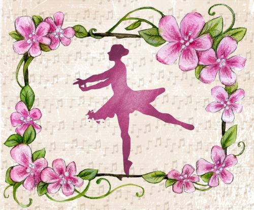 ballerina dance piano