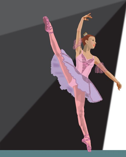 ballerina  costume  performance