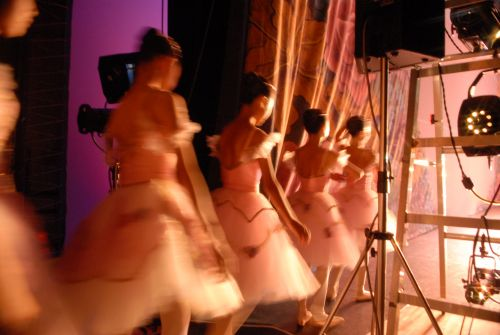 Ballerina At Backstage 4