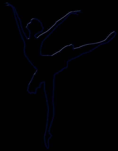 ballet black silhouette