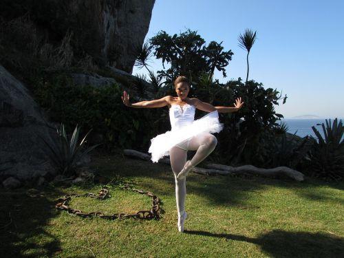 ballet dancer dance landscape