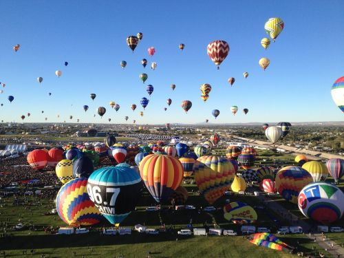ballon fiesta photo color