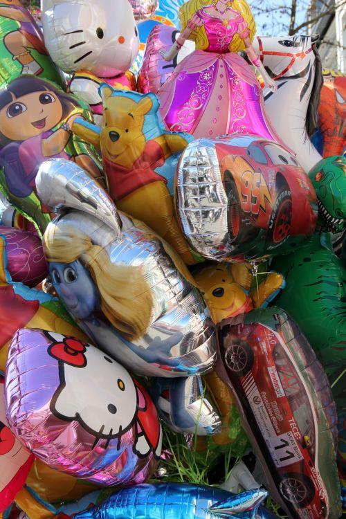 balloon helium colorful