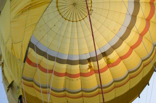 balloon takeoff travel