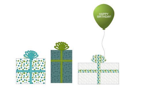 balionas,žalias,taškeliai,juosta,lankas,lankai,kietas,balta,dovanos,dovanos,dovanos,pateikti,su gimtadieniu