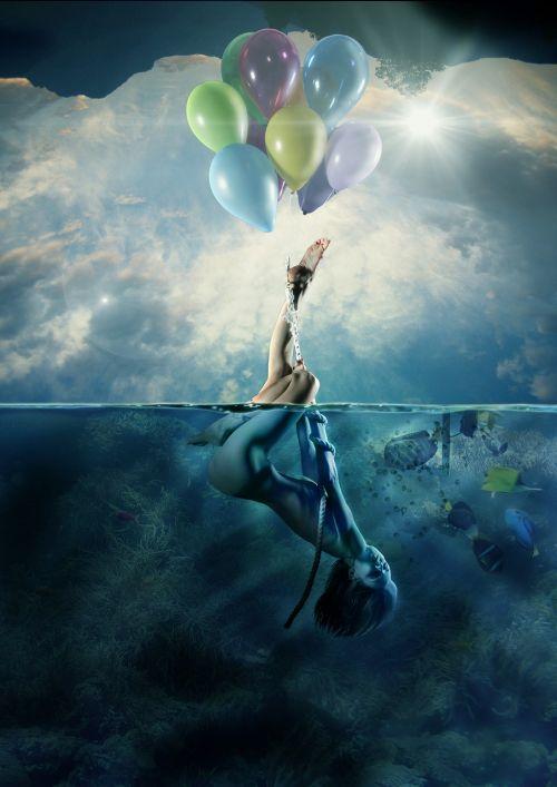 balloon marine women's