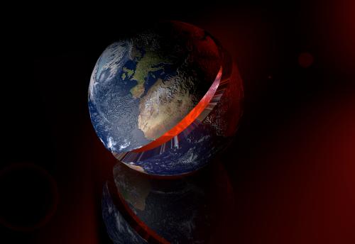 balloon terraqueo earth