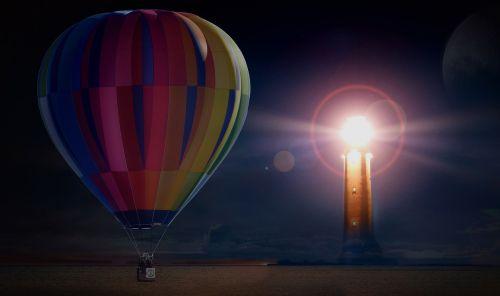 balloon hot air balloon ride mission