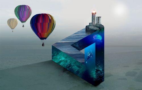 balloon hot air balloon ride vision