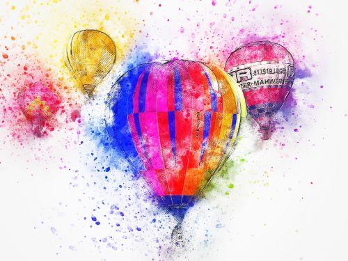 balloon air art