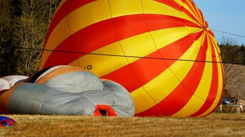 balloon flight flying