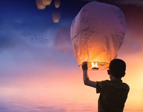 balloon lantern light