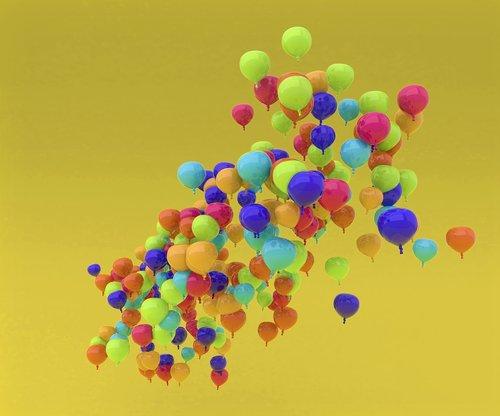 balloon  cloud  flying