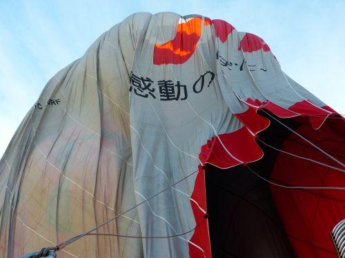 balloon hot air balloon sleeve