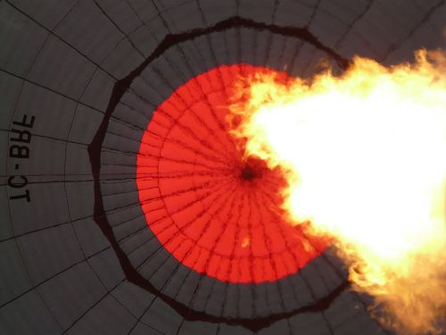 balloon envelope hot air balloon burner