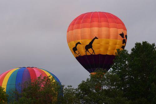 ballooning air sky