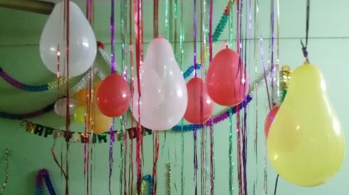 balloons celebration party