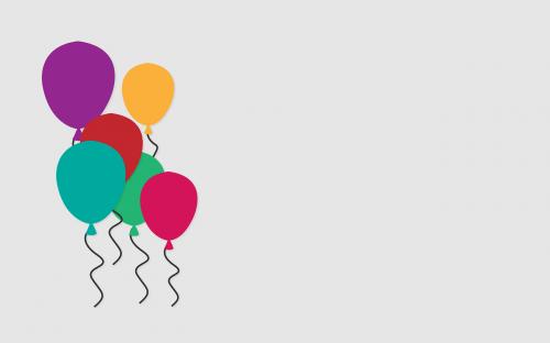 balloons celebration colorful